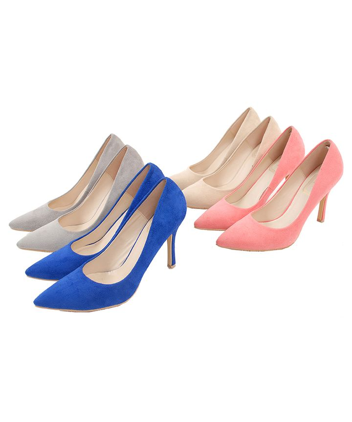 Agence Suede Pumps