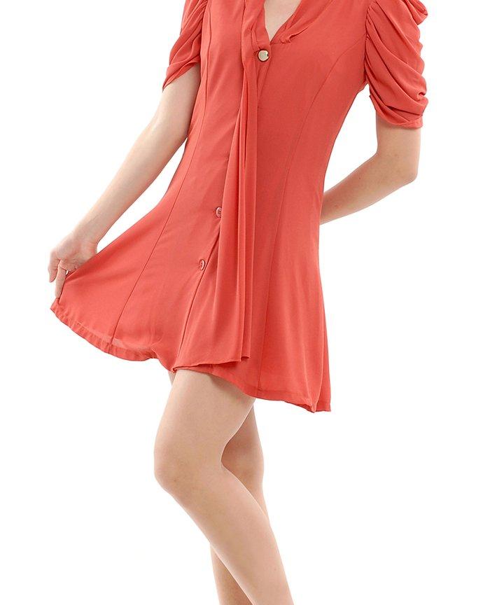 Willow Ruche Dress