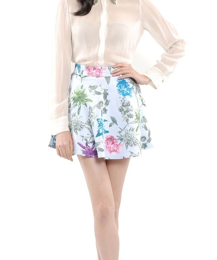 Porcelain Neoprene Skirt