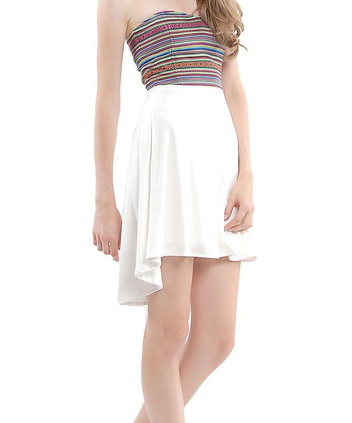 Rue Aztec Bustier Dress
