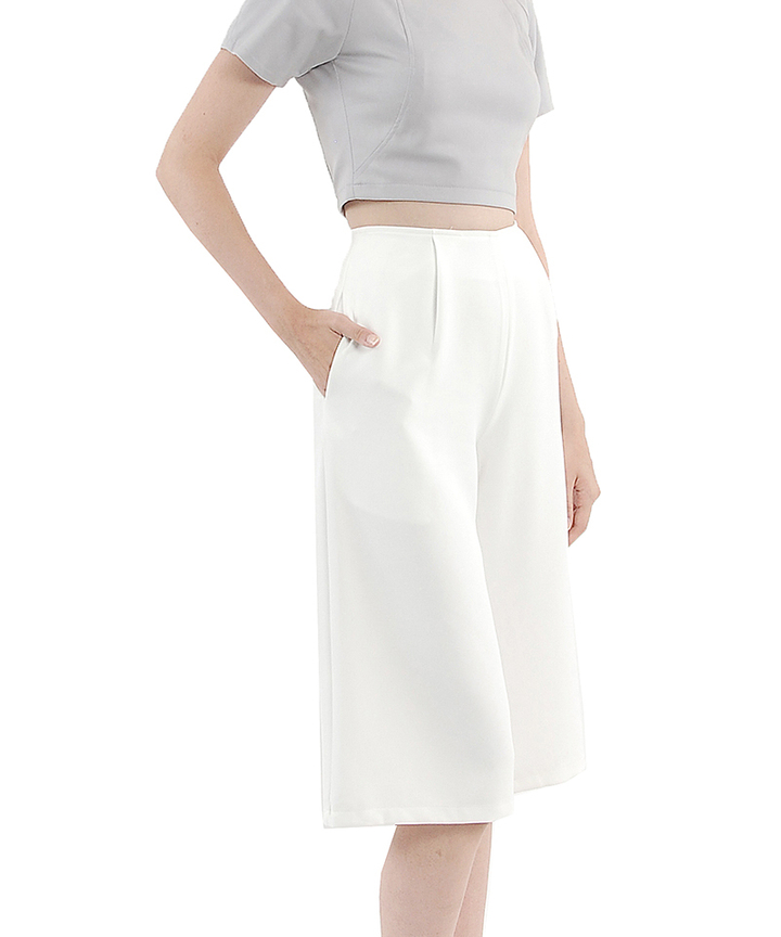 Mink Structured Culottes