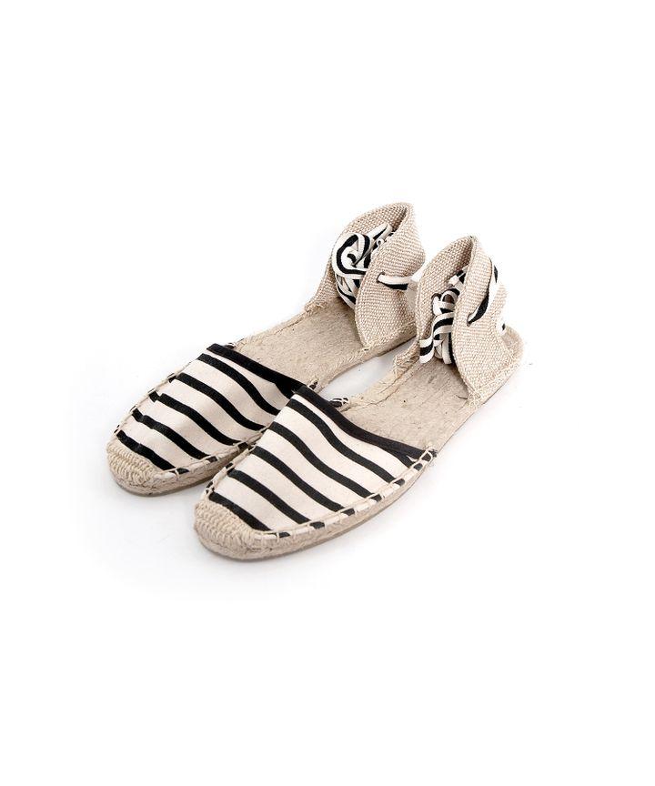 Striped Espadrilles