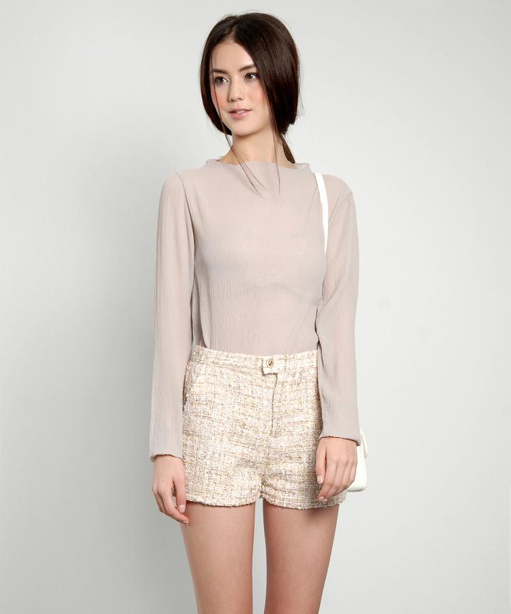 Prue Tweed Shorts