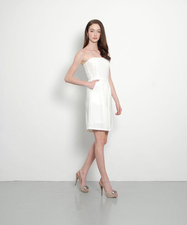 Charlize Midi Jumpsuit (White)
