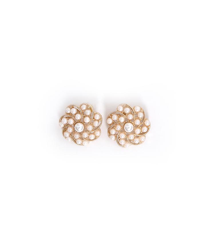 Belle Winged Diamante Earrings