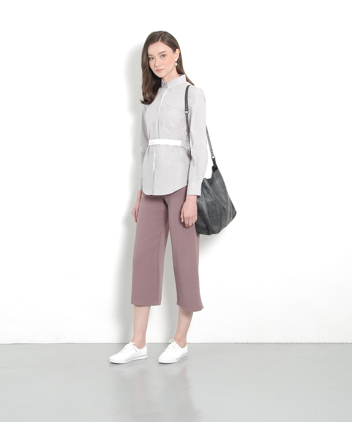 Ginza Culottes - Dust Lavender