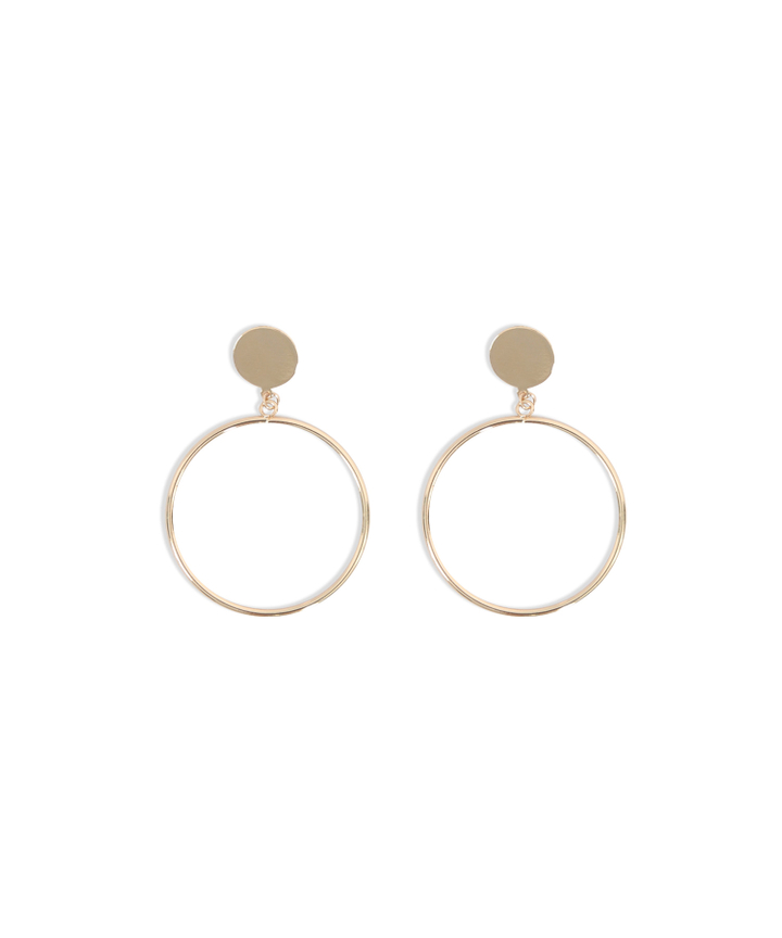 Yuri Hoop Earrings