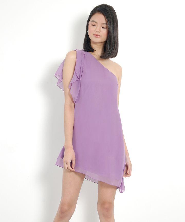 Tinkerbell Toga Dress - Pale Violet
