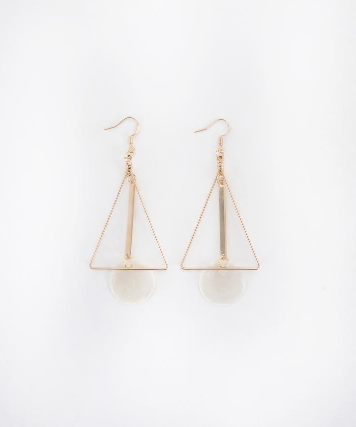 Tenor Triangle Earrings