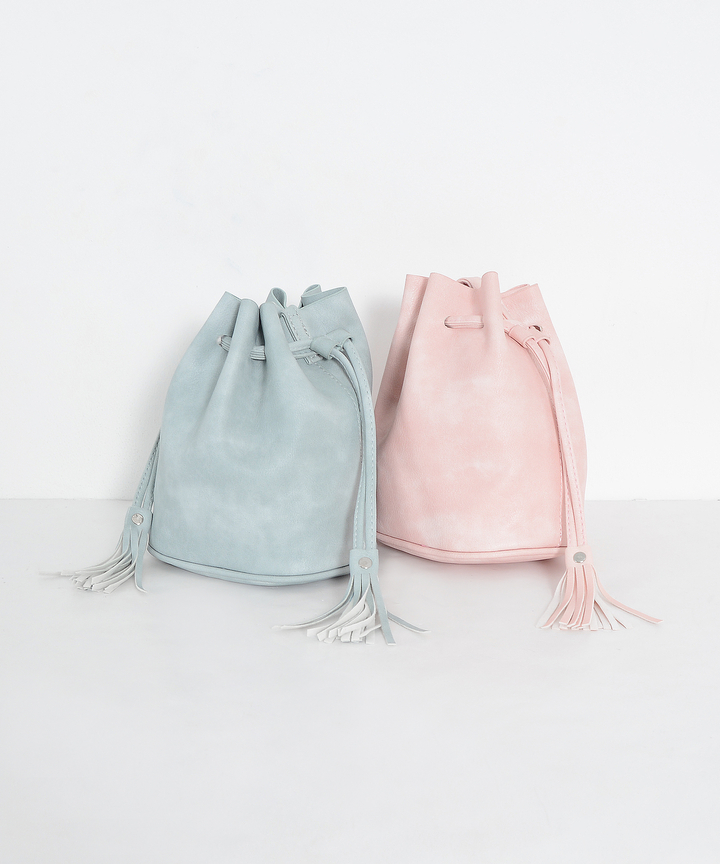 Derby Bucket Tassel Bag