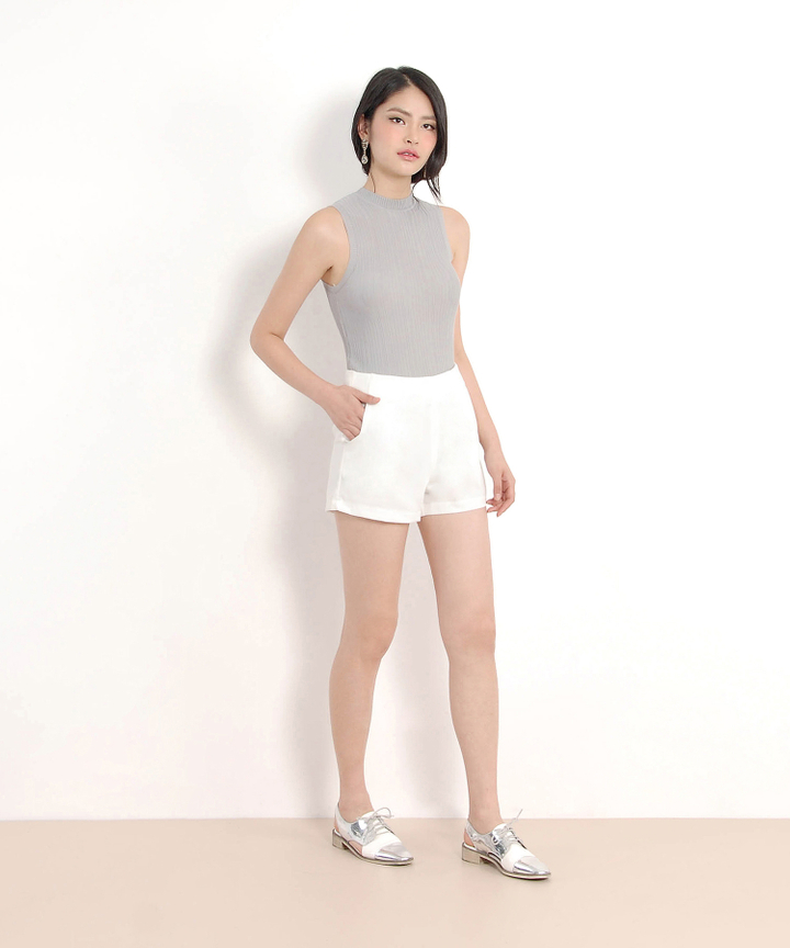 Mae Knit Top - Grey