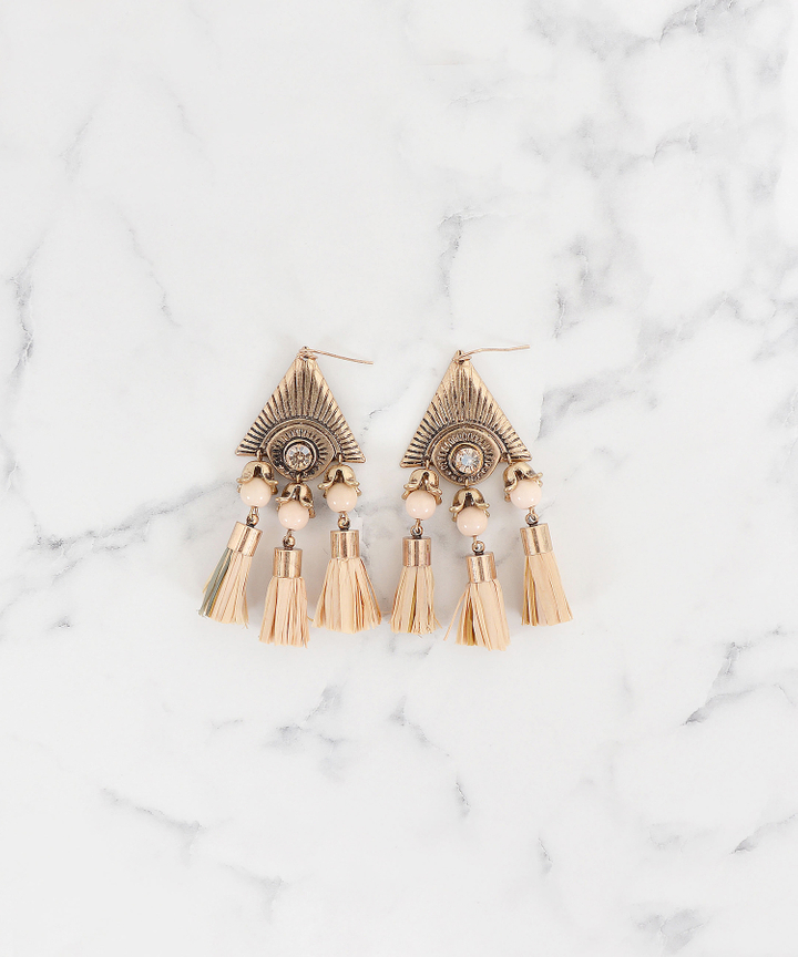 Dynasty Tassel Earrings (Restock)