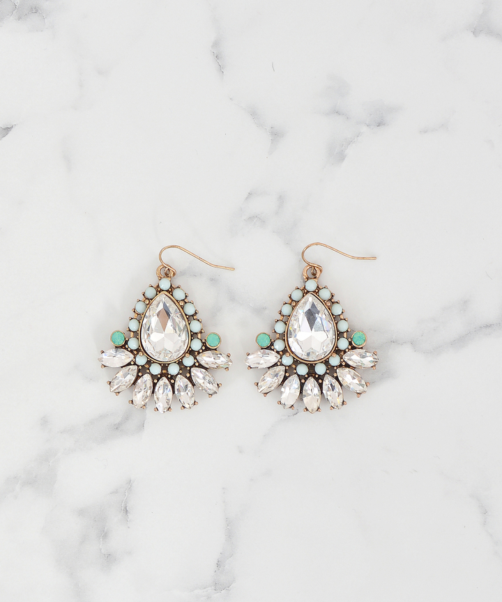 Optic Embellished Earrings