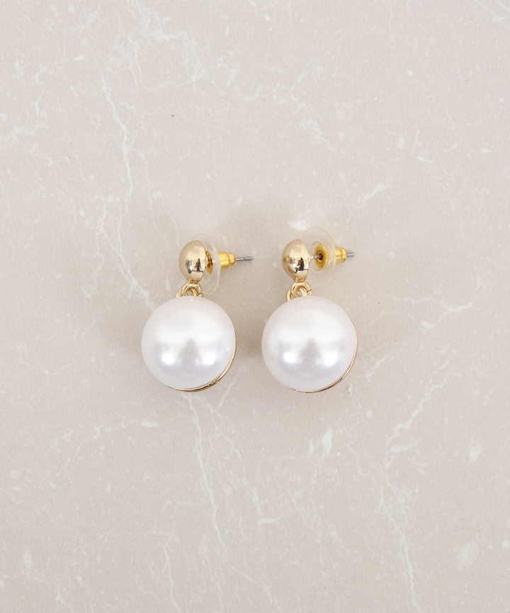 Pearl Orb Earrings (Restock)