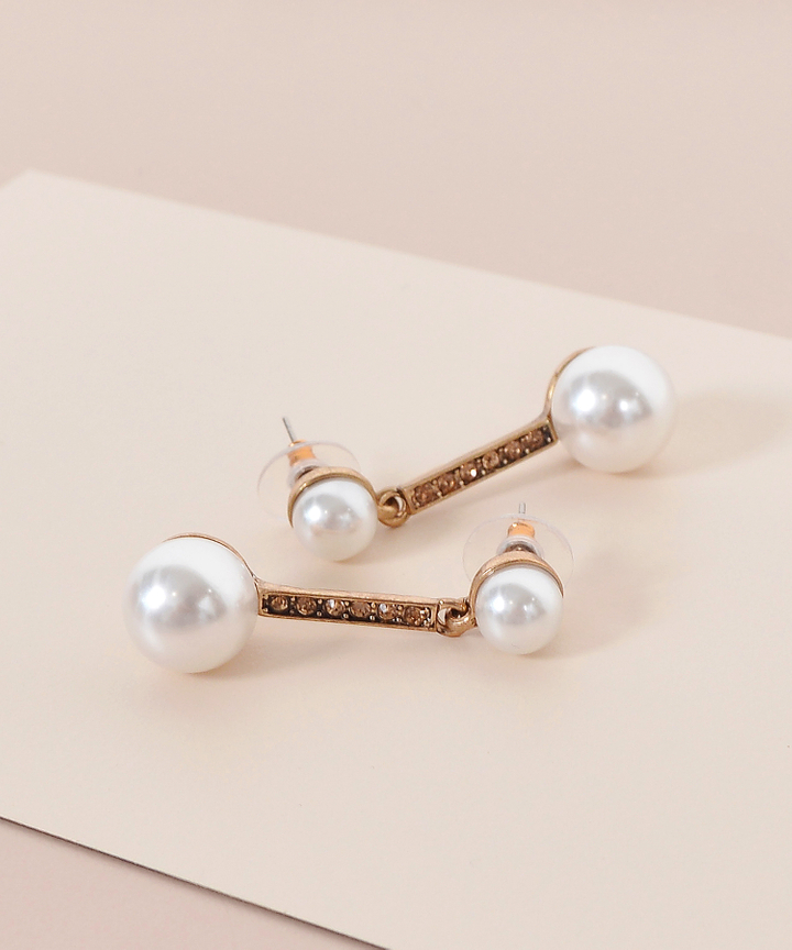 Shiro Pearl Drop Earrings