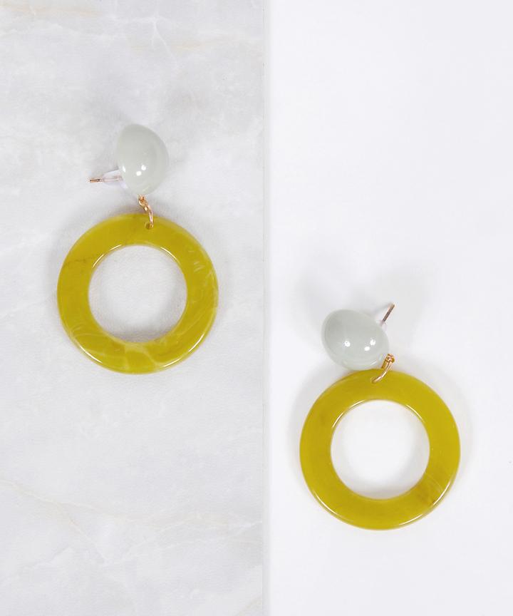 Yvette Circle Earrings