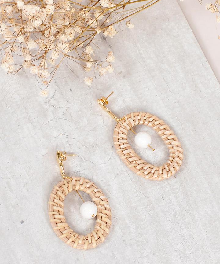 Rhea Woven Earrings
