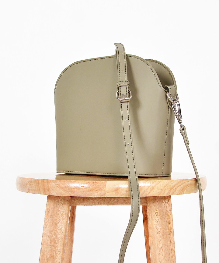Mitzi Sling Bag - Green Grey