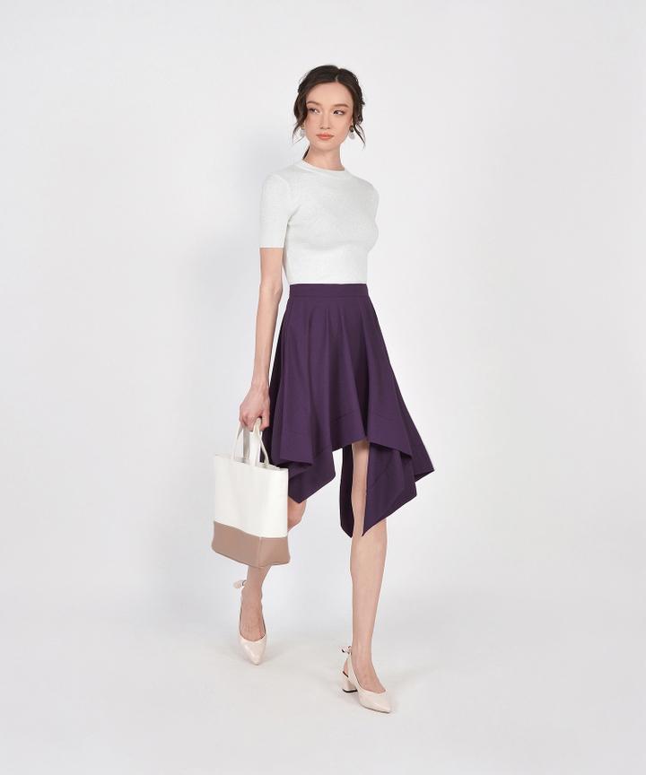 Lumi Knit Top - White