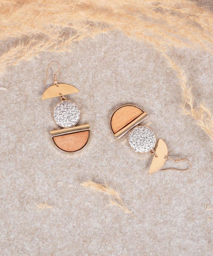 Gene Tiered Earrings