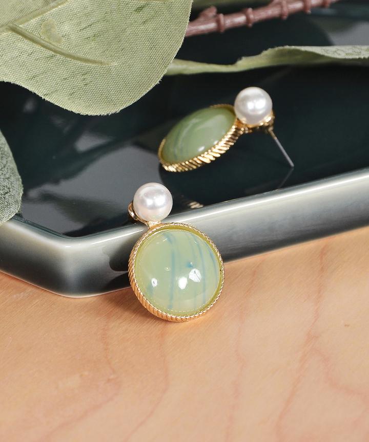 Glint Pearl Earrings