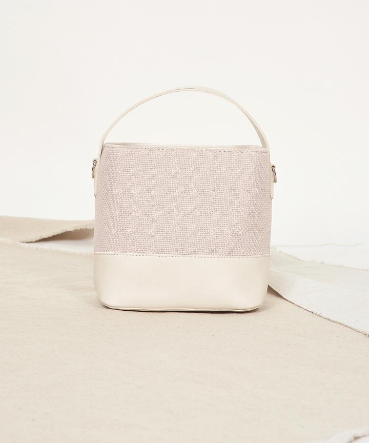 Freida Bucket Bag - Cream