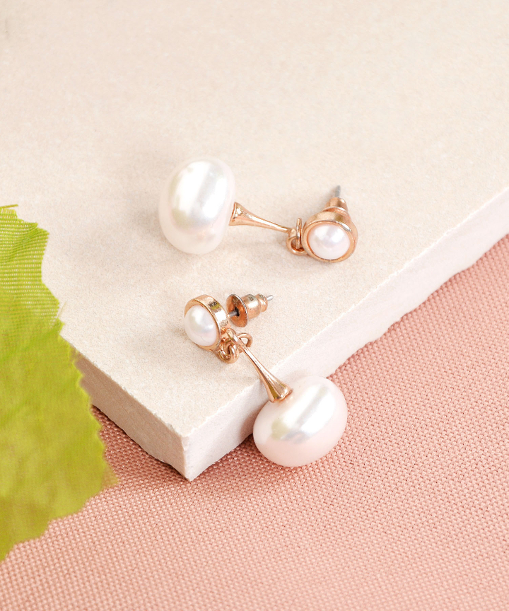 Arisa Pearl Drop Earrings