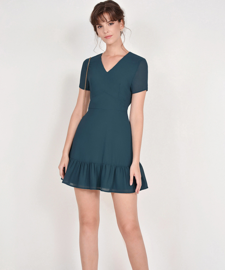 Sofia Dress - Teal