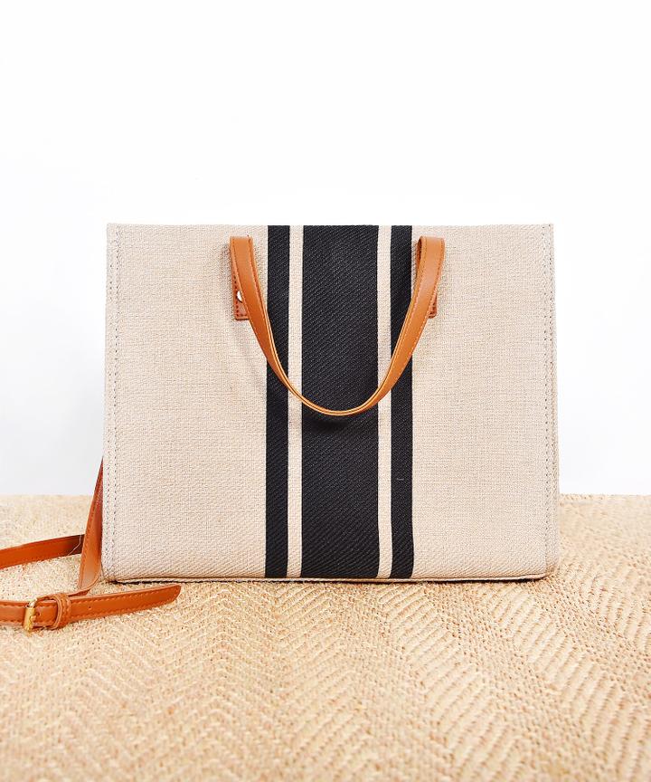 Haje Striped Bag (Restock)