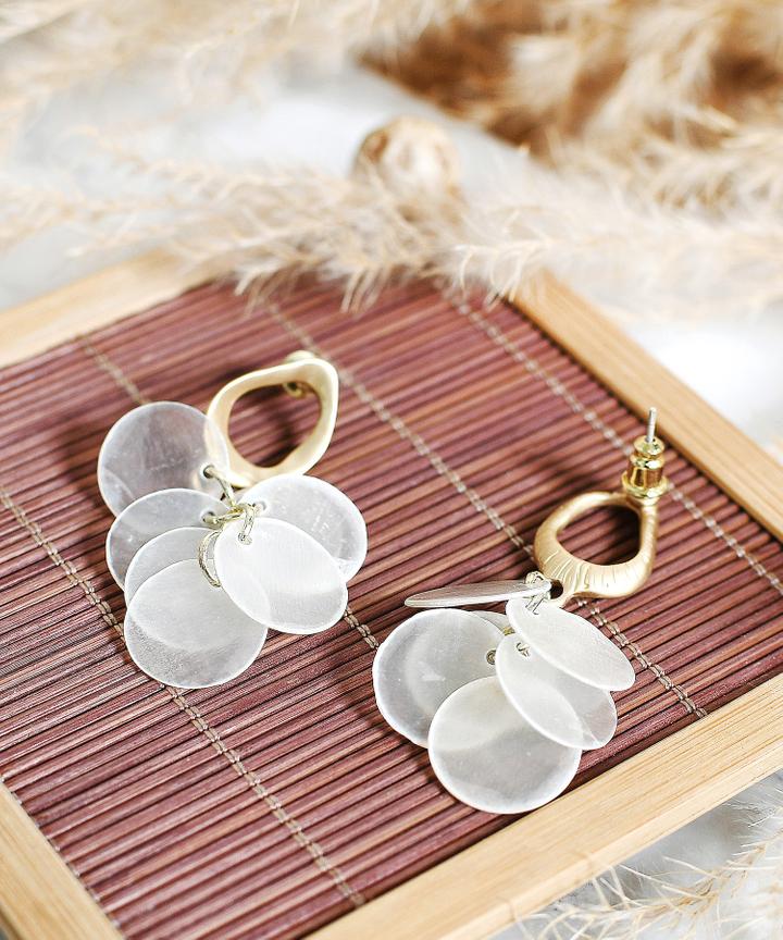 Solstice Cluster Earrings
