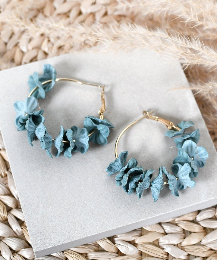 Laurel Floral Earrings