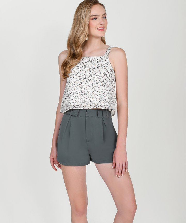 Cabana Printed Top - White
