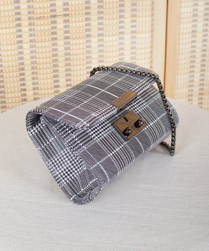 Canopy Checkered Bag