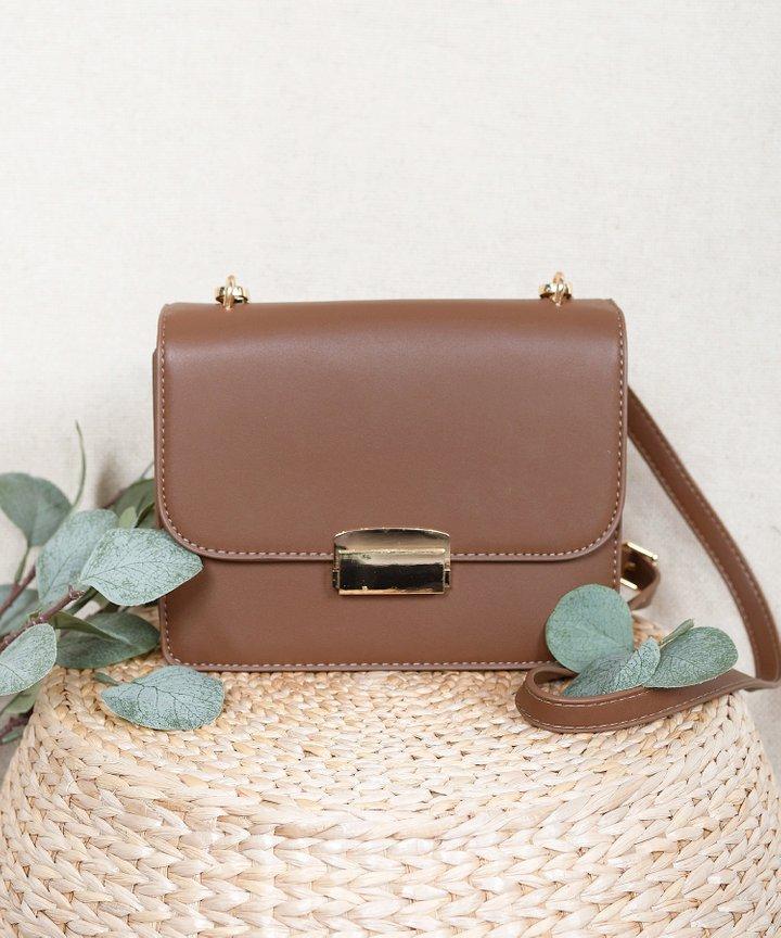 Eloise Shoulder Bag - Mocha