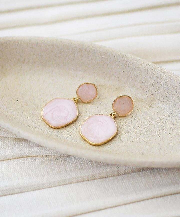 Panettiere Marble Earrings