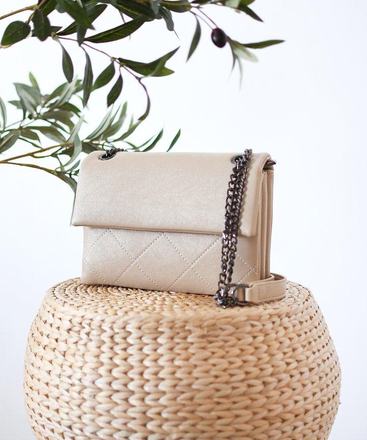 Lipsy Chain Bag - Cream