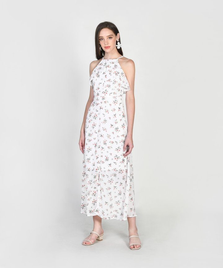 Gemmill Floral Maxi Dress - White