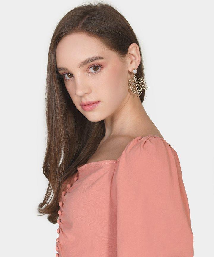 Chelsea Vine Statement Earrings