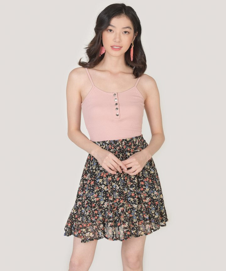 Piccolo Knit Bodysuit - Blush