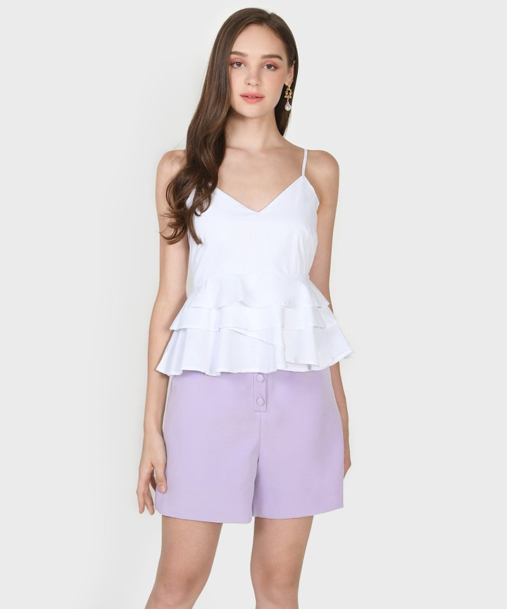 Pixie Tiered Peplum Top