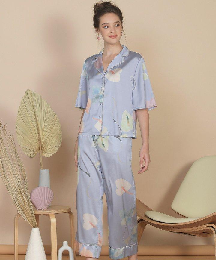 Bellflower Shirt - Hydrangea Blue (Restock)