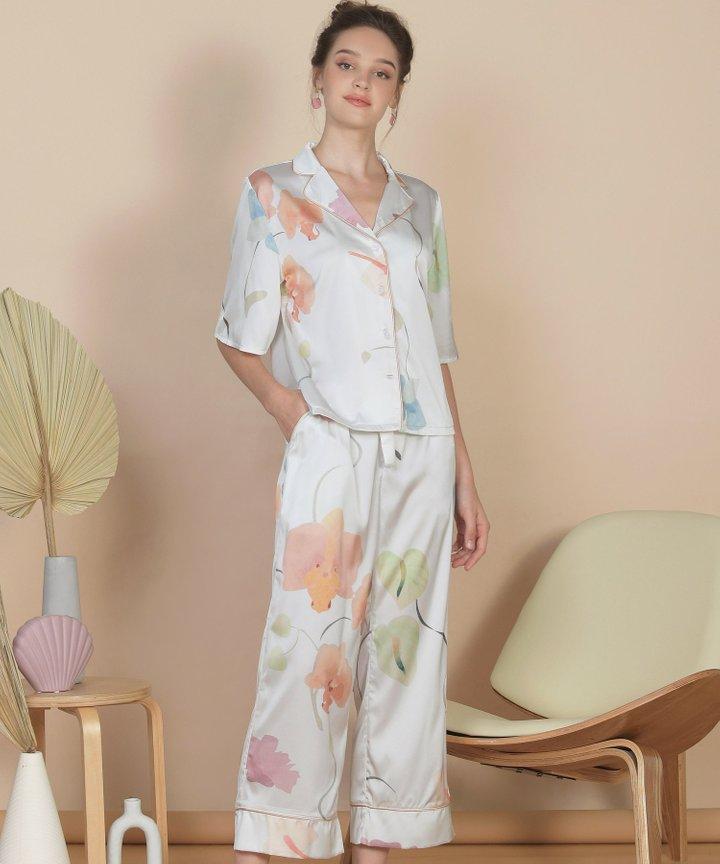 Bellflower Shirt - White (Restock)