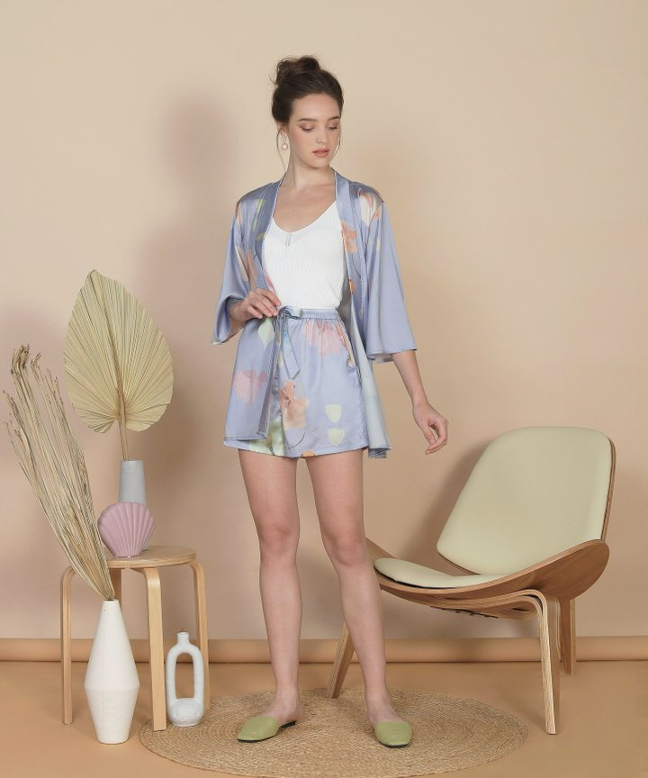 Bellflower Shorts - Hydrangea Blue (Restock)