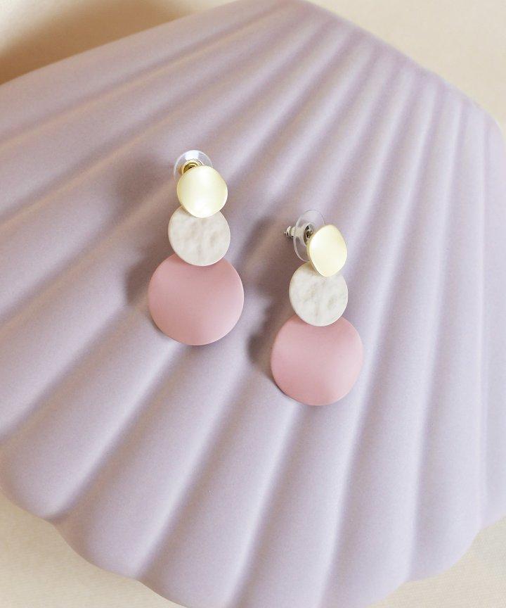 Pio Colourblock Earrings