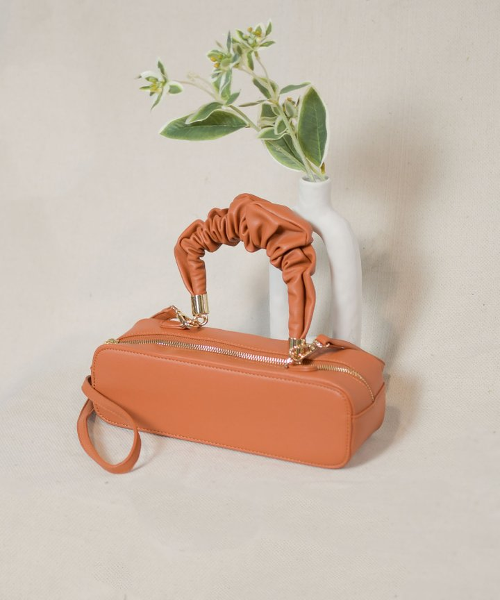 Pyo Ruched Handle Bag