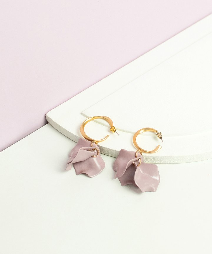 Daybreak Petal Earrings