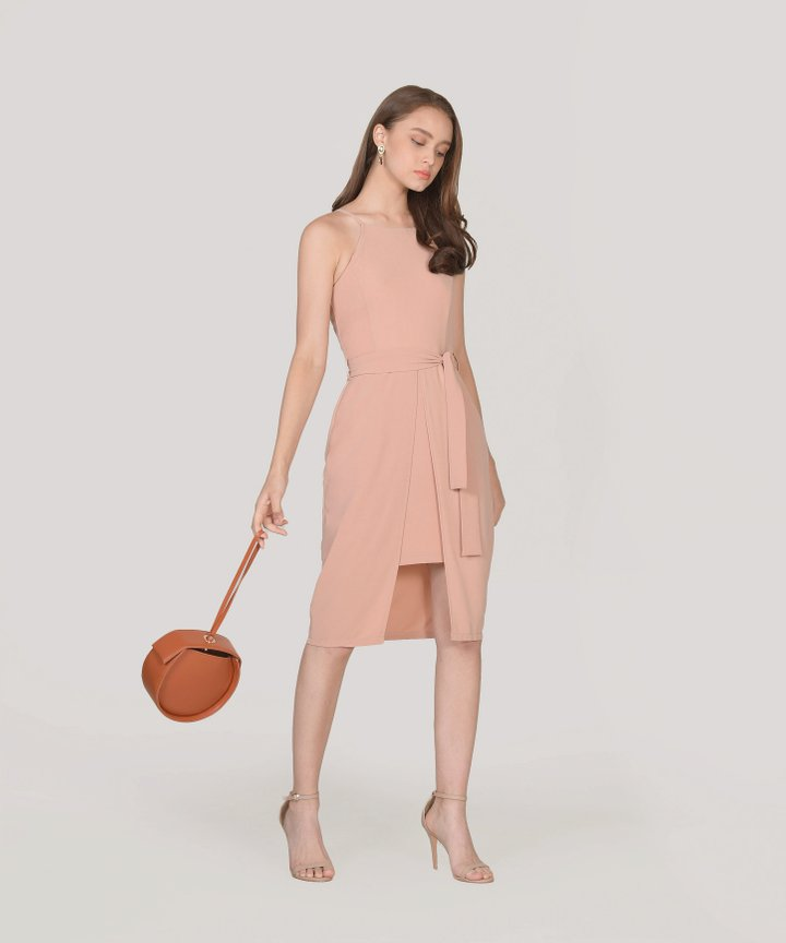 Philosophy Dress - Nude Pink