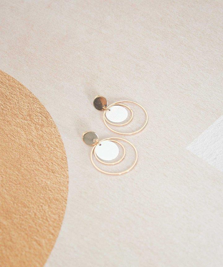 Franc Multi Hoop Earrings