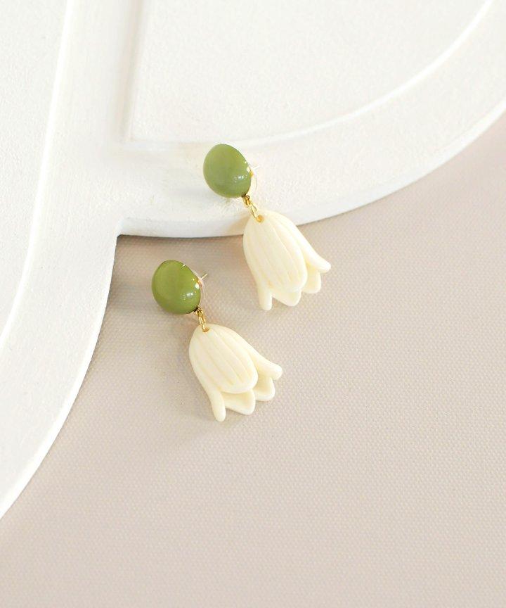 Gander Tulip Earrings