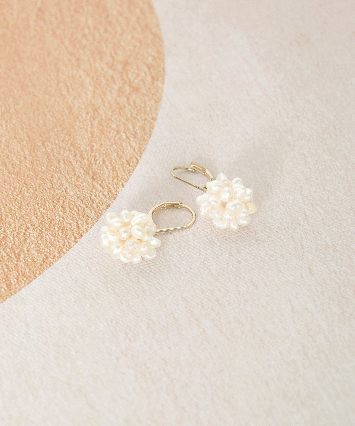 Marcheline Pearl Earrings